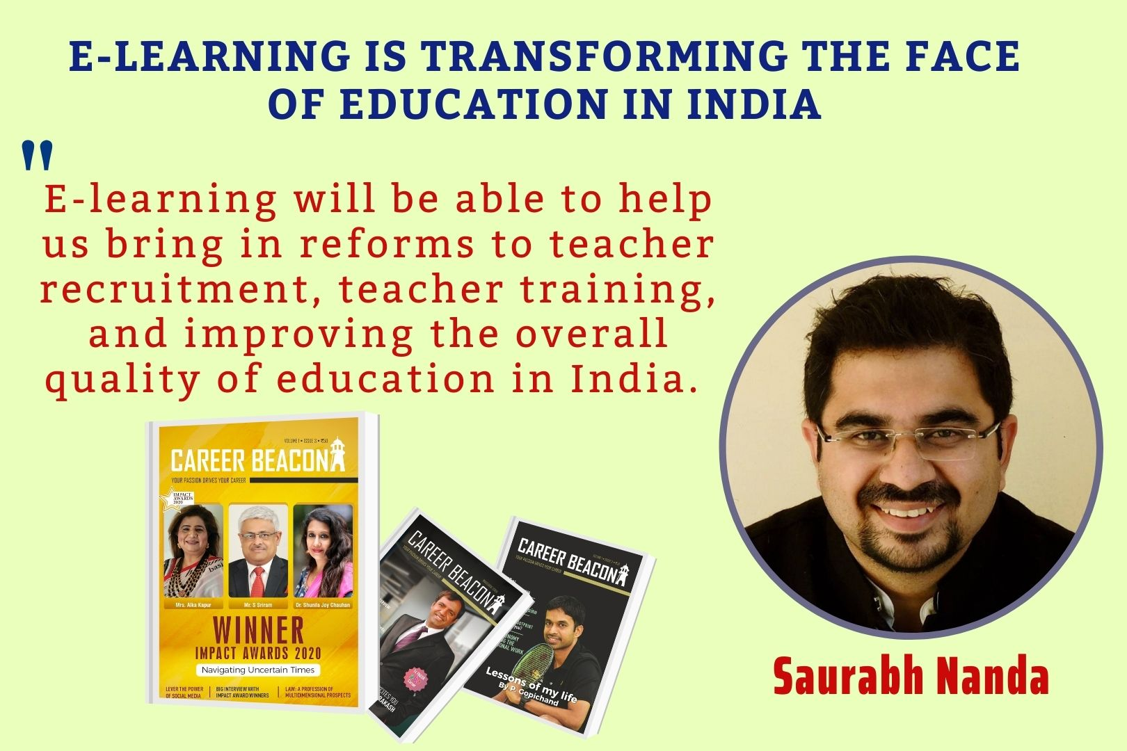 E-Learning is Transforming the Face of Education in India