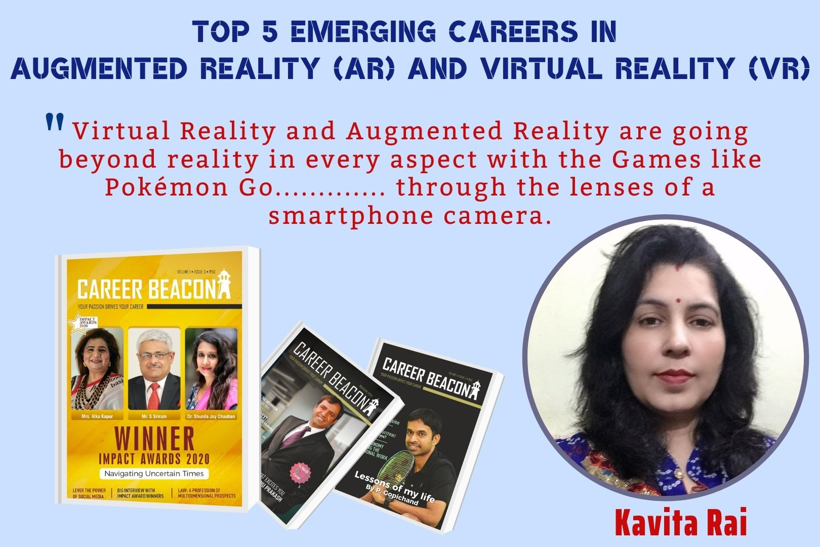 Top 5 emerging careers in Augmented Reality (AR) and Virtual Reality (VR)