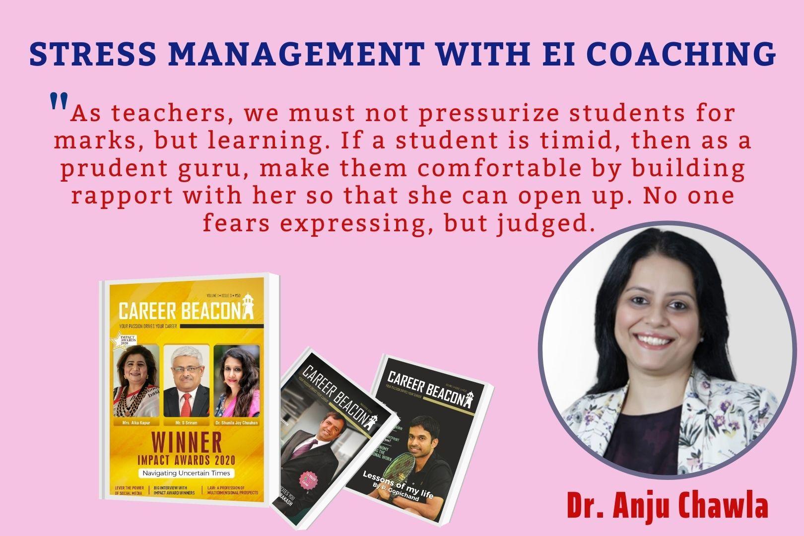 STRESS MANAGEMENT WITH EI COACHING