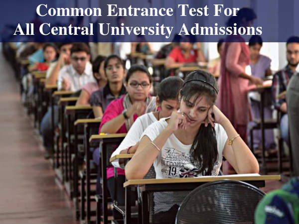 2021- A common test for admission to central universities