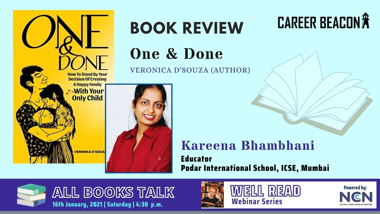 One & Done is a book of creating a happy family with a single child