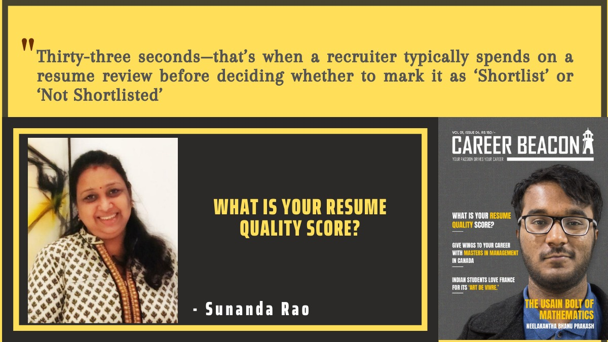 What is your Resume Quality Score?